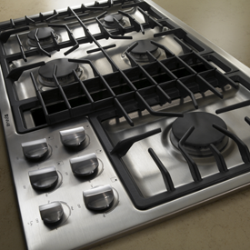 Jenn-Air JGD3536WS downdraft cooktop
