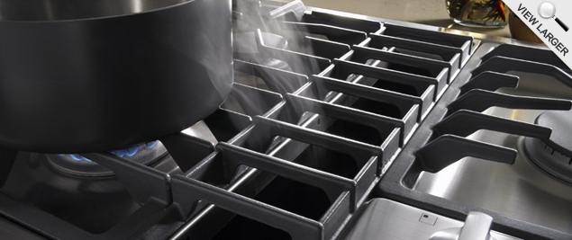 Jenn-Air JX3 Downdraft Cooktop in Action