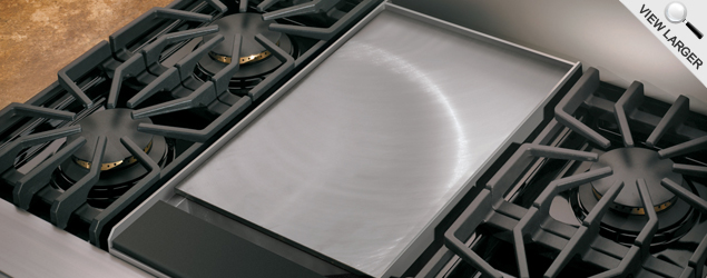 Viking Stove Griddle 3 Step Cleaning